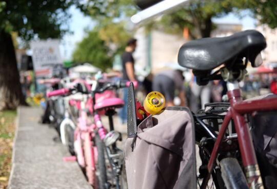 Parqueamento de bicicletas