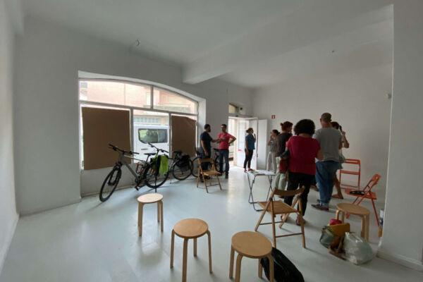 A casa da bicicleta