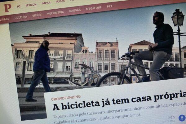 A bicicleta já tem casa própria em Aveiro