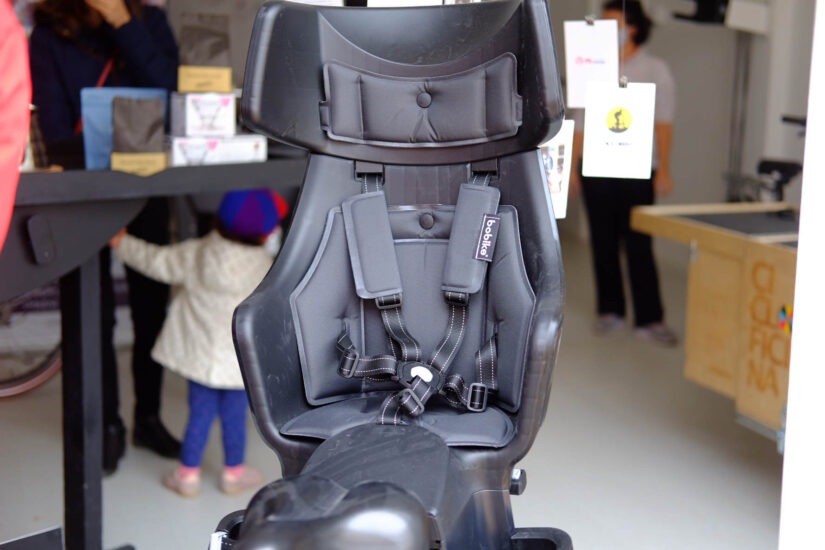 Cadeira fixação ao porta-bagagem